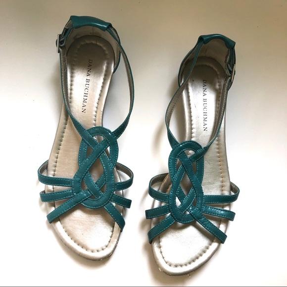 f5c92ae90 Dana Buchman Shoes - 7.5 Women s - Turquoise Blue Dana Buchman Sandals